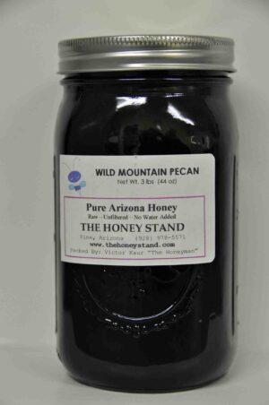 Wild Mountain Pecan Honey